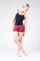Wear Moi Gipsy maroon shorts