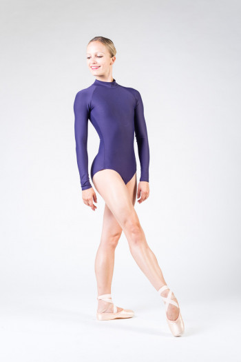 Wear Moi Azel prune leotard