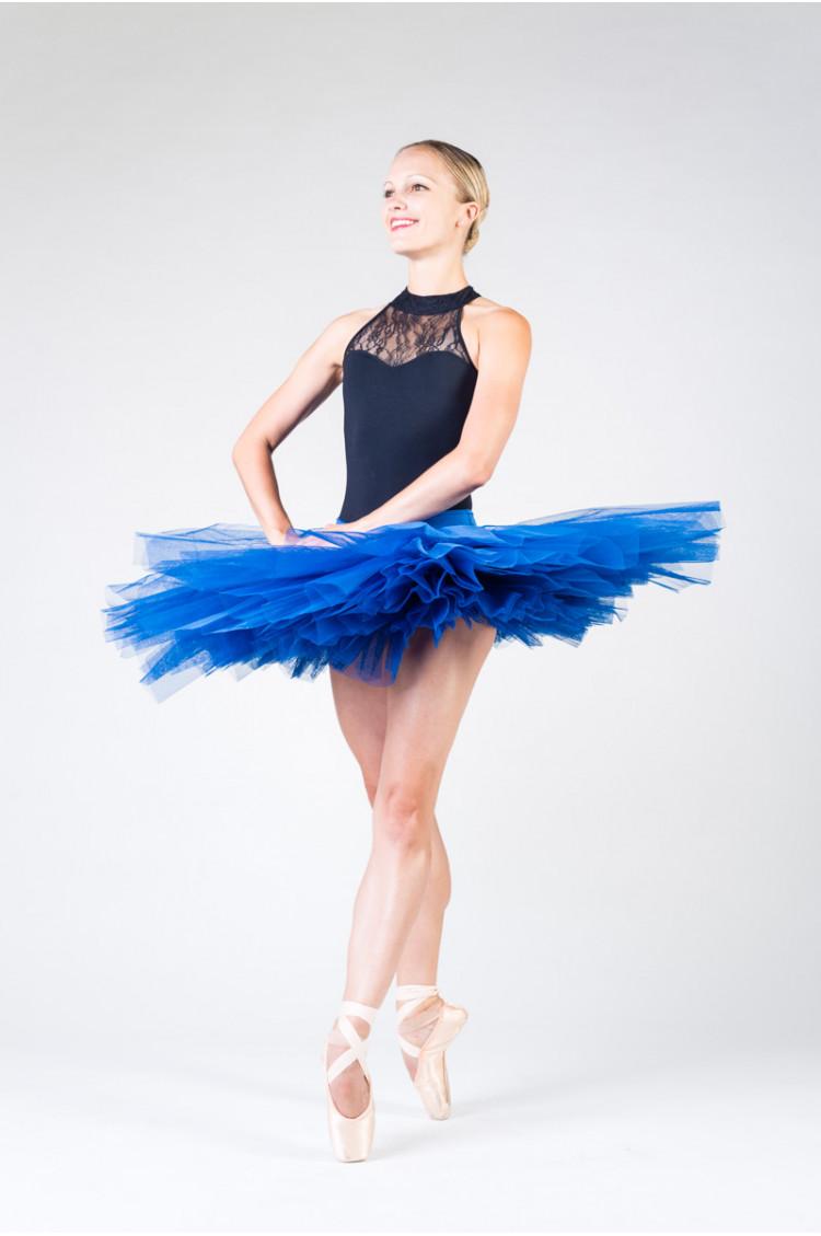 Bas de tutu Bloch Belle royal blue