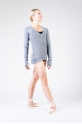 Bloch Orion grey marle pullover