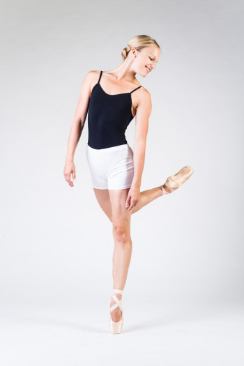 Temps Danse Visu white dance short