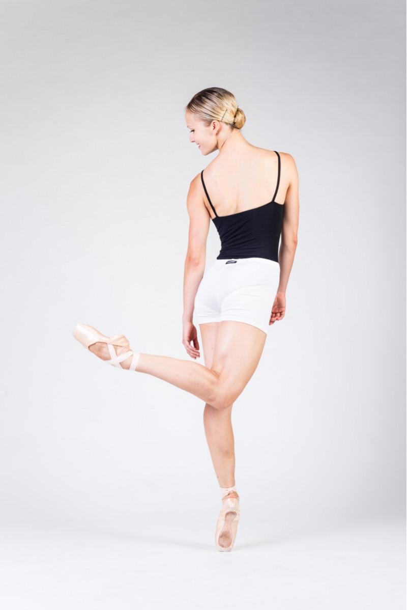 Short Temps Danse Visu blanc