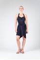Mirella black latin dress M1018