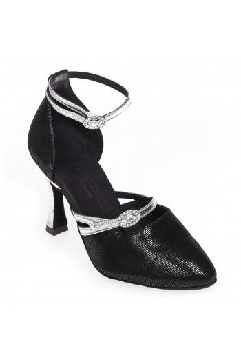 Chaussures de danse Rummos R375 noir/argent 60R