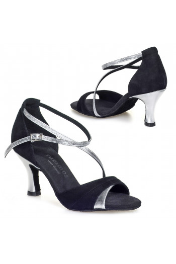 Rummos black and silver dance shoes
