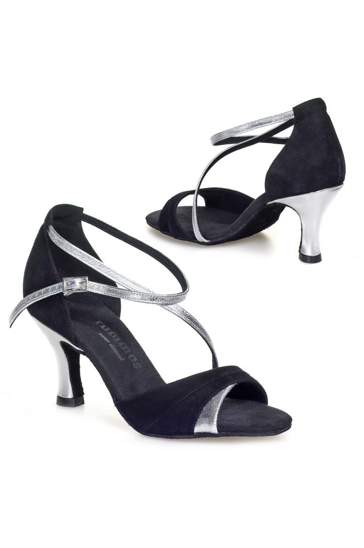 Chaussures de danse Rummos R304 noir/argent 80E