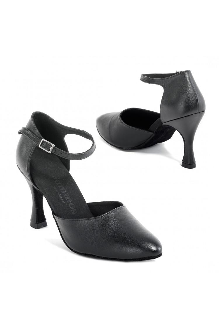 Chaussures de danse Rummos R309 cuir noir 50R