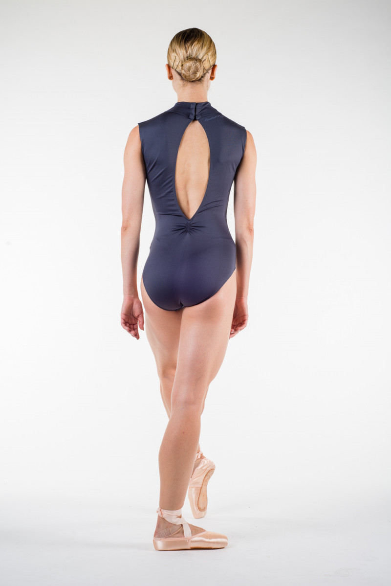 Ballet Rosa Angeles grey leotard