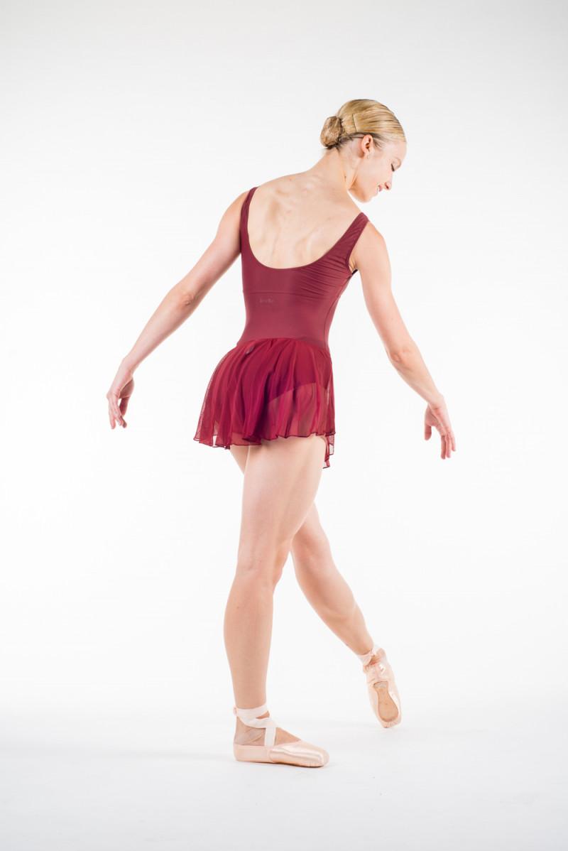 Wear Moi Daphne maroon skirt
