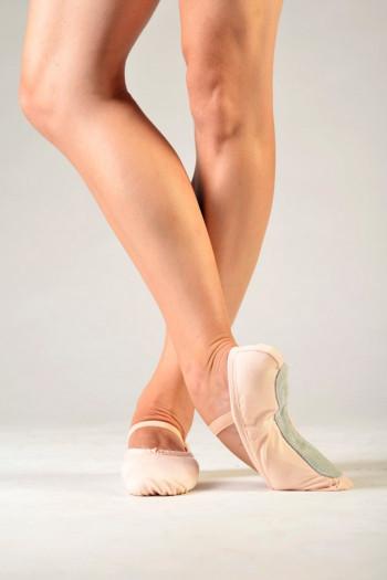 Sansha pink canvas soft ballet shoes Tutu