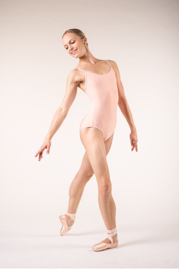 Wear Moi Diane women peach leotard