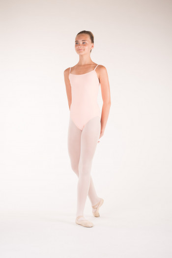 Wear Moi Diane peach ballet leotard