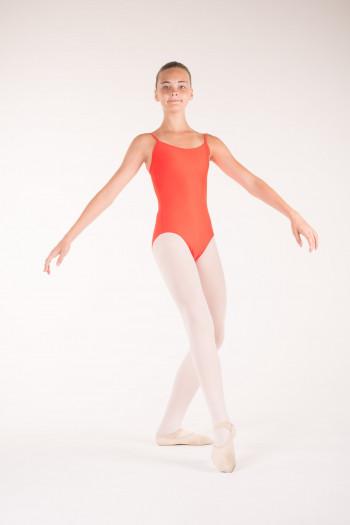 Wear Moi Diane tangerine ballet leotard
