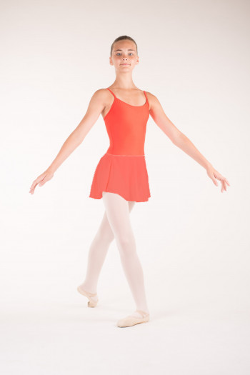 Jupe danse wear moi fille orange
