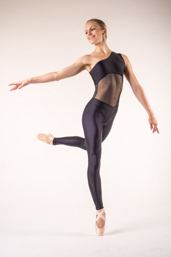 Ballet Rosa Magali dance unitard black