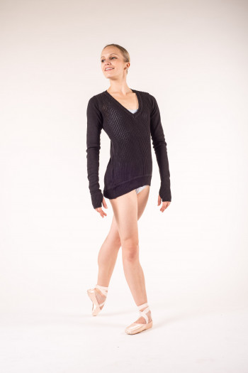 Pull long Bloch Z6529B black