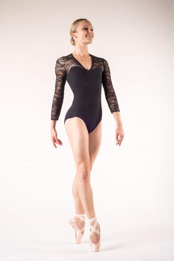 Bloch long sleeves dance leotard L6016
