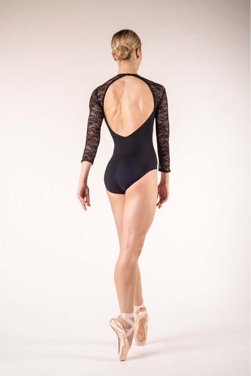 Bloch long sleeves dance leotard L6016