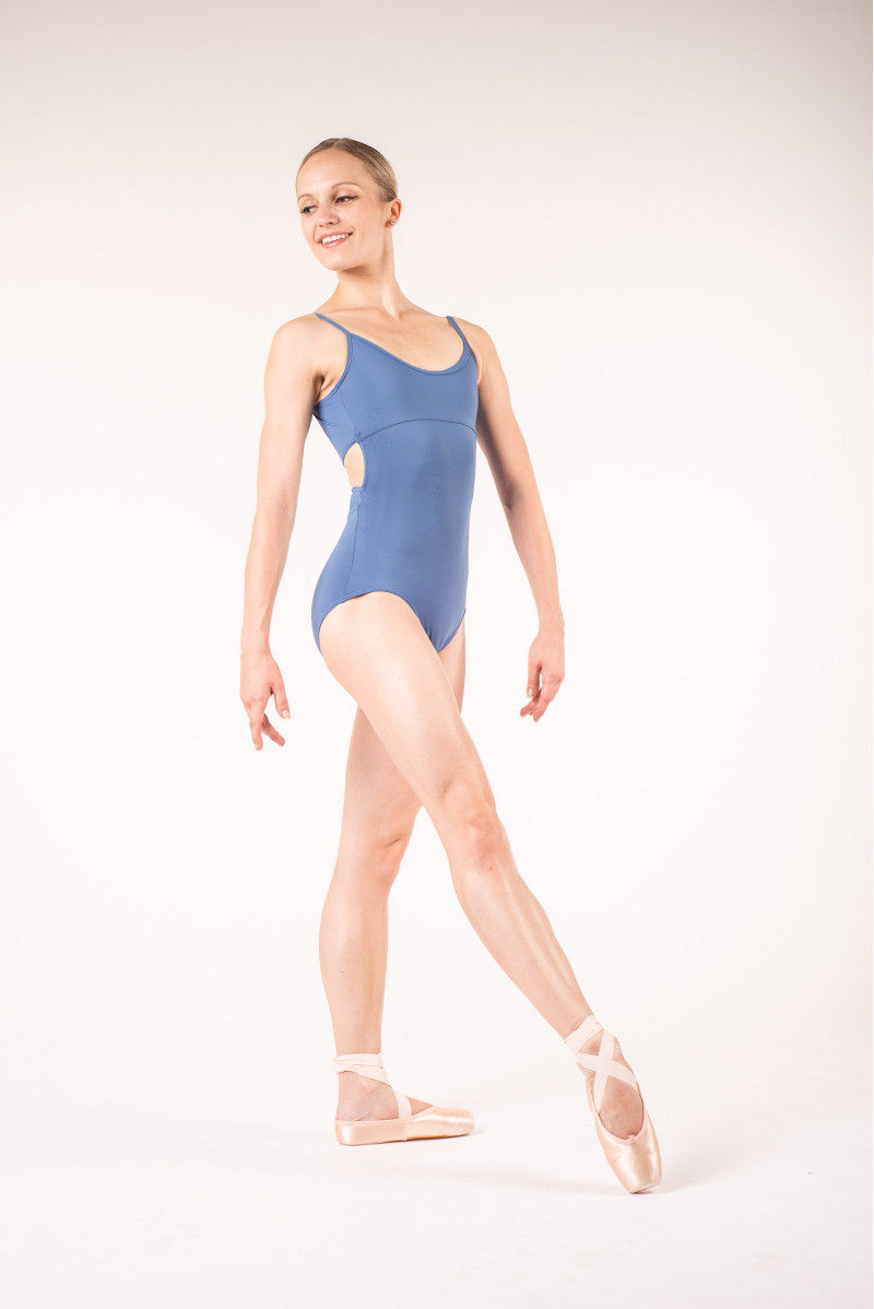 Capezio MC102 storm blue leotard