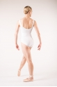 Capezio TC0002 tactel white leotard