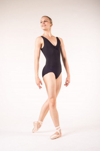Capezio TC0002 tactel black leotard