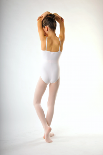 Collant de danse capezio enfant rose
