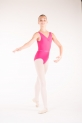 Capezio TC0002C tactel Mulberry leotard
