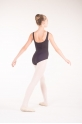 Capezio TC0002C tactel black leotard