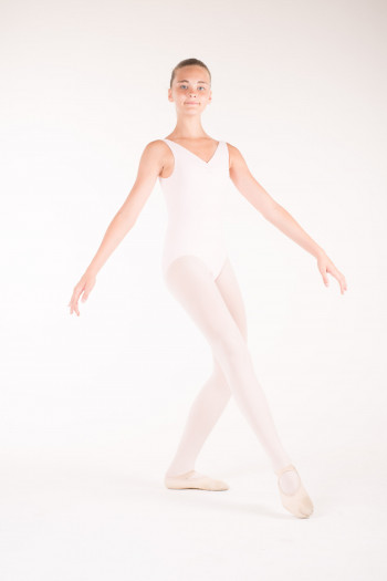 Capezio TC0002C tactel pink leotard