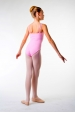 MDA pink double straps girl leotard