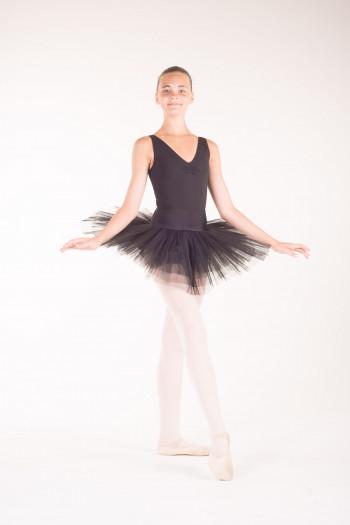 MDA white girl practice tutu