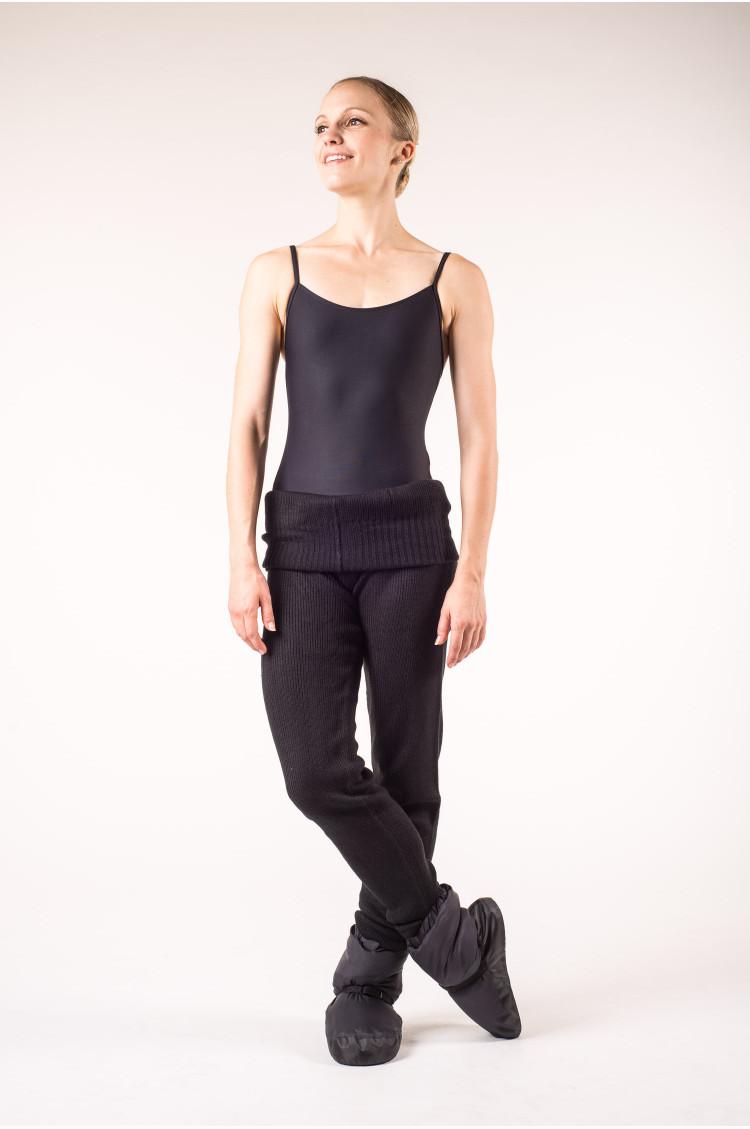 Chausson de danse bootie bloch noir