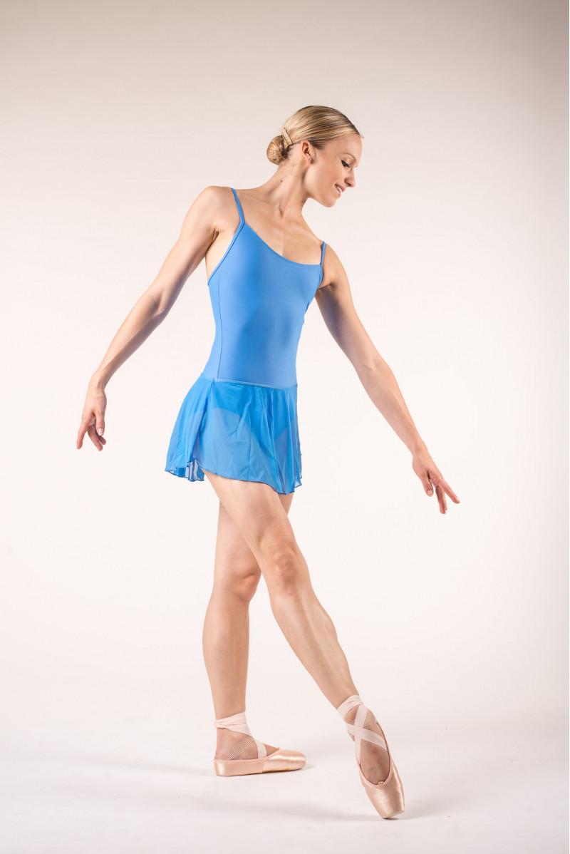 Jupette danse wear moi bleu roi