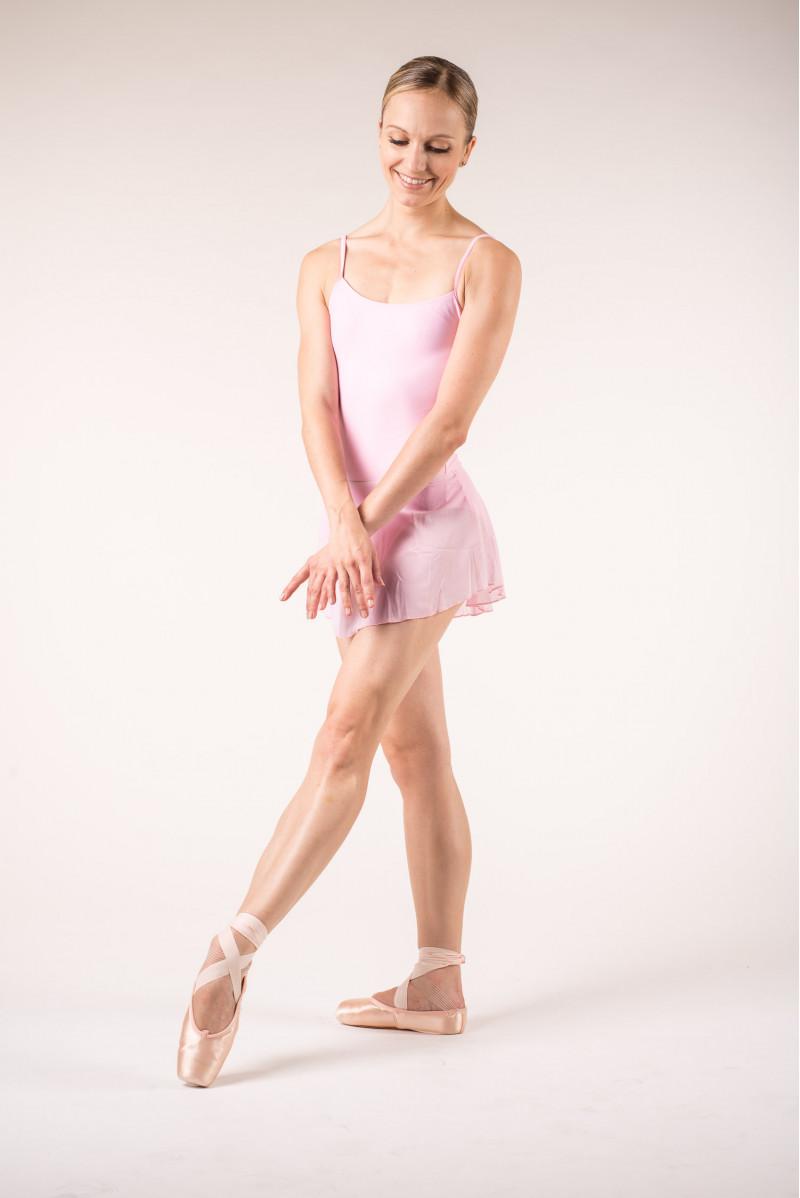 Jupette danse wear moi rose clair