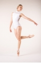Wear Moi Lys white leotard