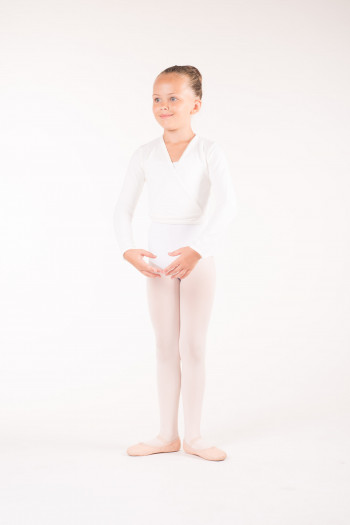 Cache-coeur Wear Moi Carmen white enfant