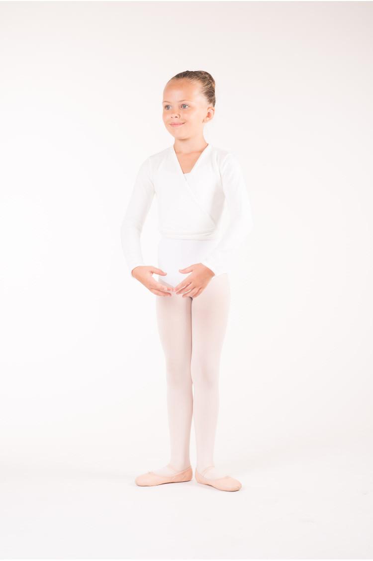 Cache coeur enfant wear moi blanc