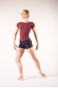 Wear Moi Cassiope maroon/black combishorts