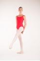 Wear Moi Diane red ballet leotard
