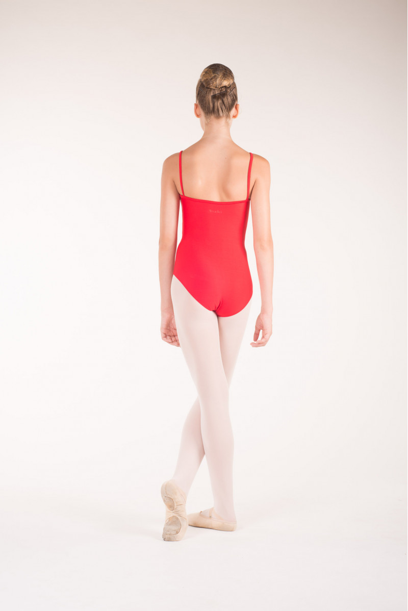 Wear Moi Diane red ballet leotard