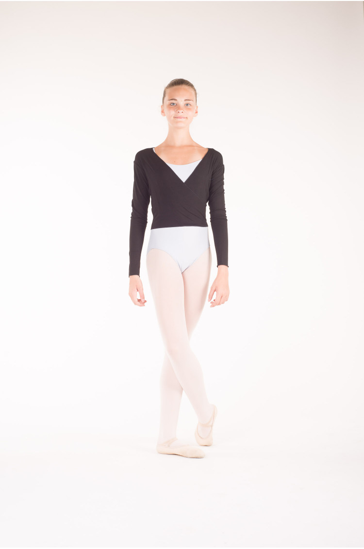 Temps Danse black wrap over top