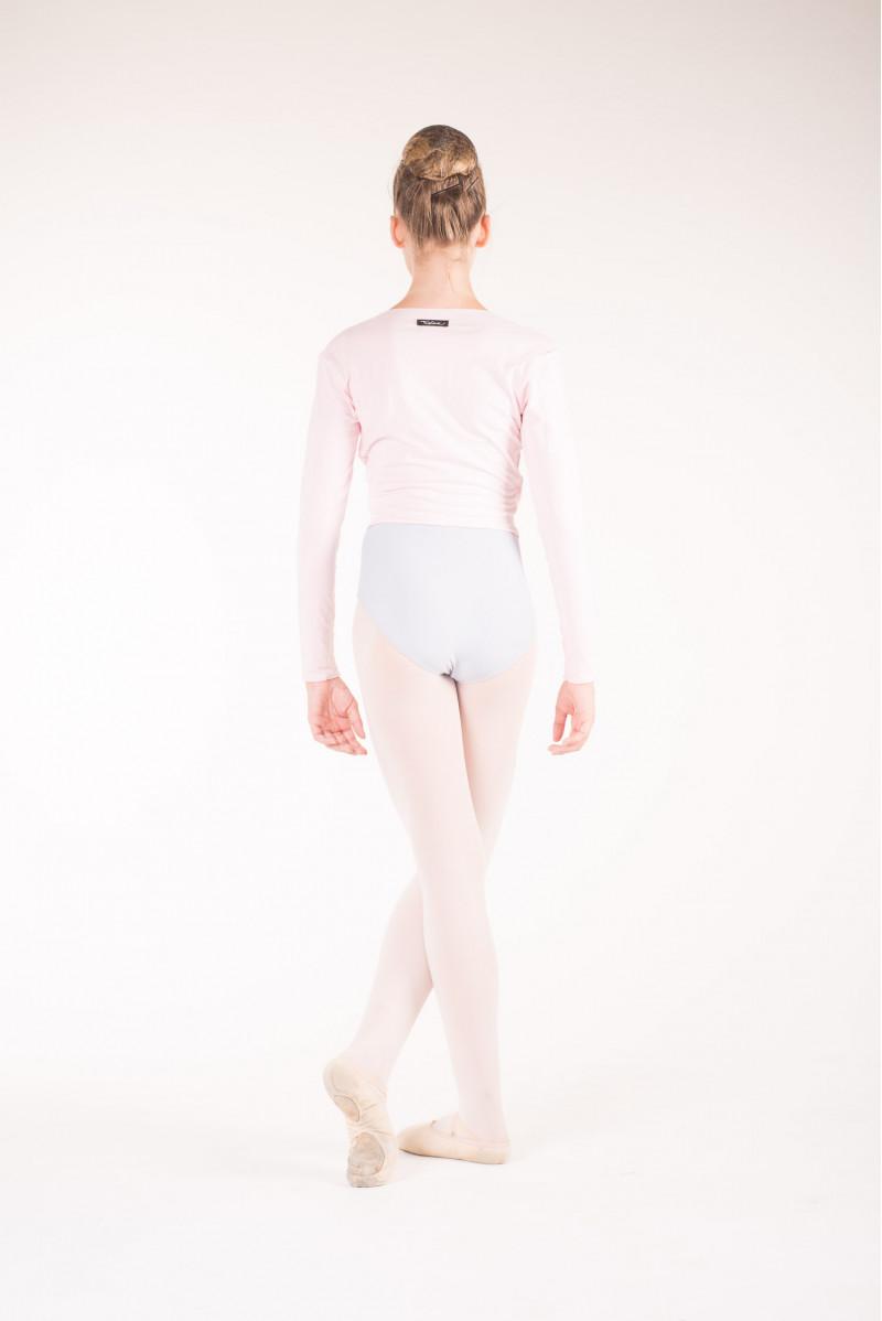 Temps Danse pink wrap over top