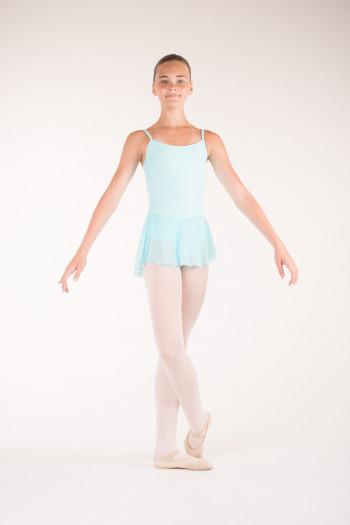Jupe danse wear moi fille bleu pacific