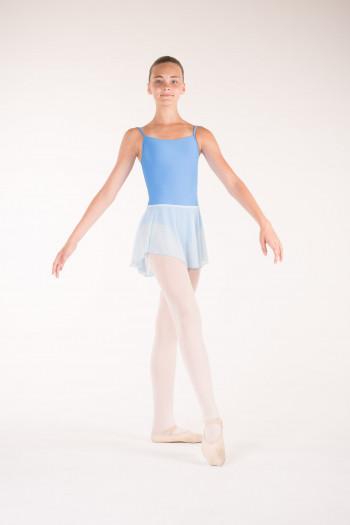 Jupe danse wear moi fille bleu ciel