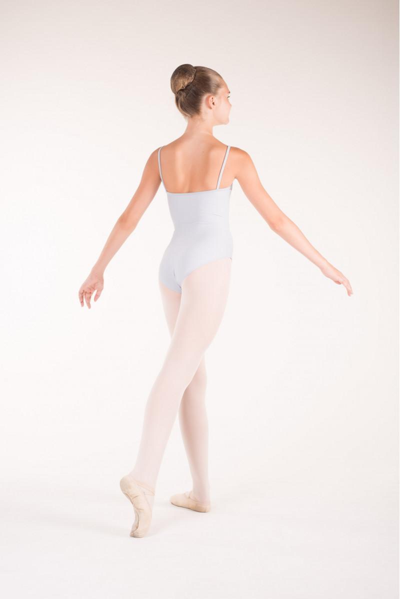 Wear Moi Diane light grey ballet leotard