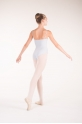 Wear Moi Diane grey ballet leotard
