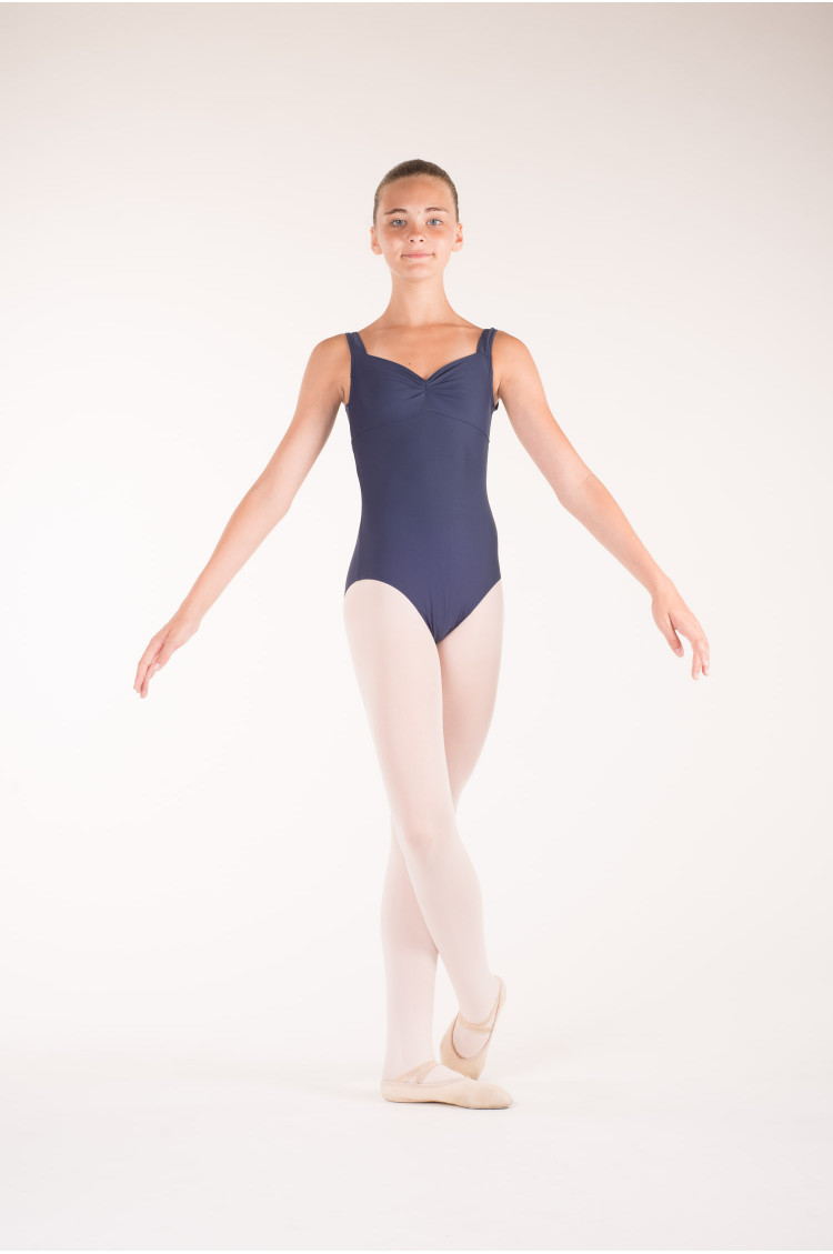 Wear Moi Galate navy leotard