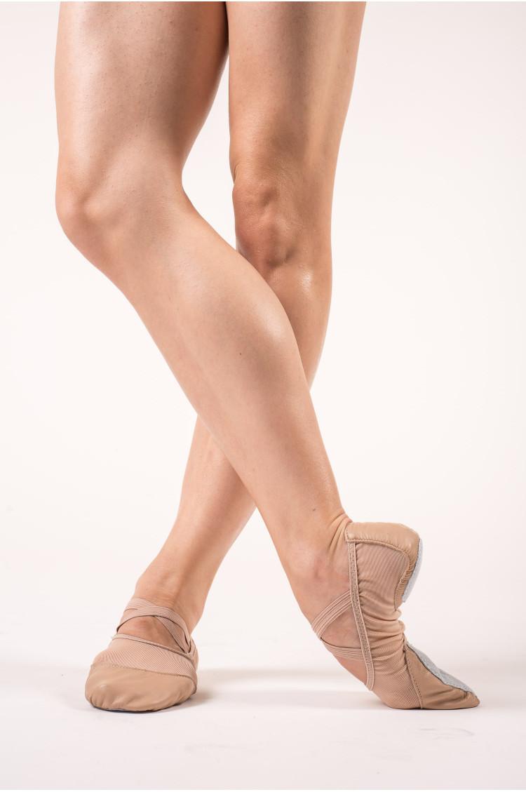 Capezio Breeze flesh soft ballet shoes