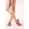 Capezio flesh jazz shoe suede sole