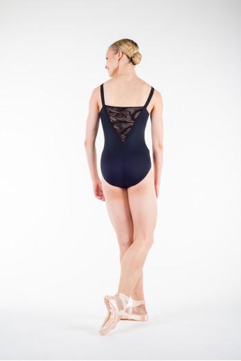 Body danse repetto dentelle noir
